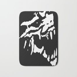 Tyrannowolf Skull Bath Mat