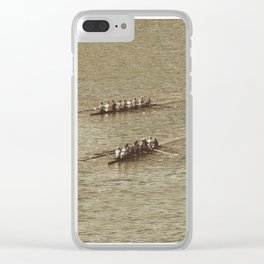 Do not row gentle Clear iPhone Case