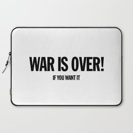 War Is Over - If You Want It -  John Lenon & Yoko Ono Poster Laptop Sleeve