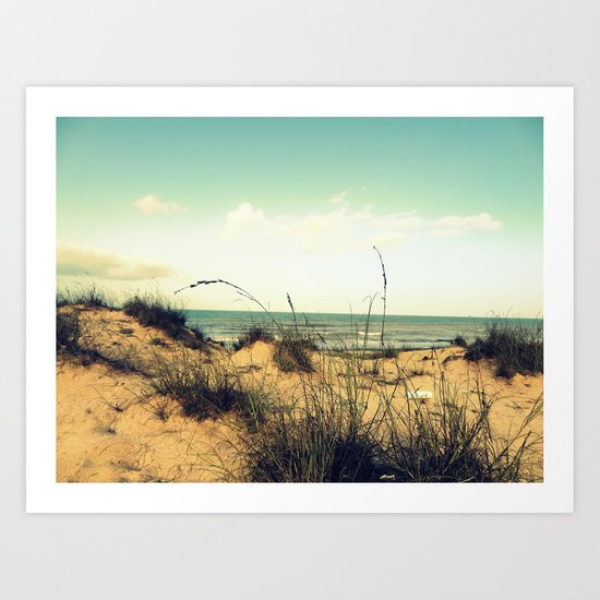 Morning Sea  Art Print