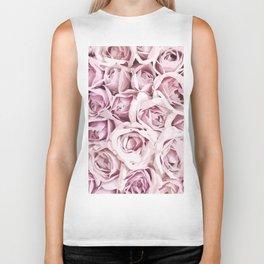 Blush Roses Biker Tank