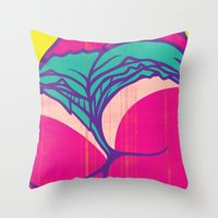 booty Throw Pillows featuring Booty Clap by Tony Easley