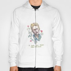 I Love You More Than David Bowie Hoody