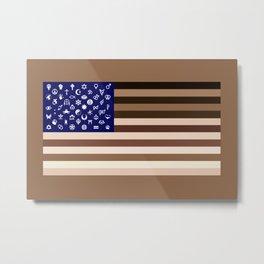 Diversity Flag Metal Print