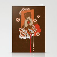 chocolate Stationery Cards featuring chocolate by Disnois