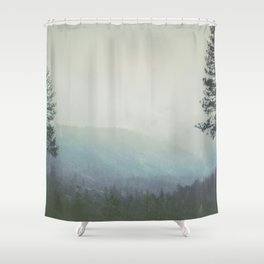 Fleeting Thoughts Shower Curtain