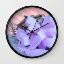 Deceased Beauty Wall Clock