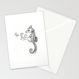 Sea horse Stationery Cards