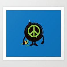 peace not war Art Print