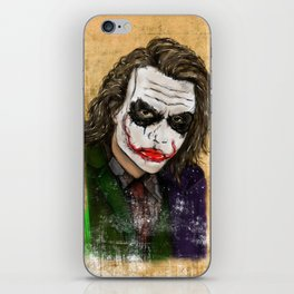 Why so serious? iPhone Skin