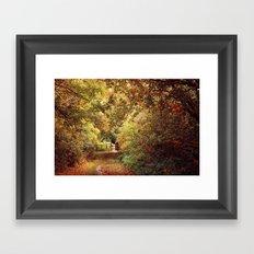 Autumn Weavers Framed Art Print