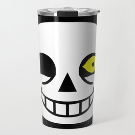 Sans Skull Bad Time Travel Mug