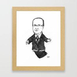 Ennemi De La Finance Invisible Framed Art Print