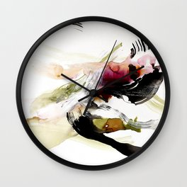 Day 12: To appreciate the imperfections that accompany beauty is the be close to nature. Wall Clock