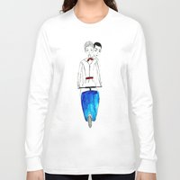 roman Long Sleeve T-shirts featuring Roman Holiday by Isabel Sobregrau