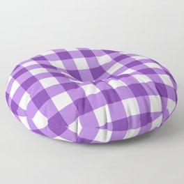 Purple Buffalo Check - more colors Floor Pillow