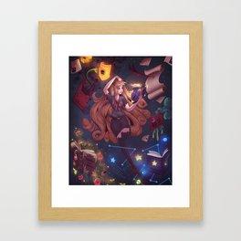 Mystical Learning Framed Art Print