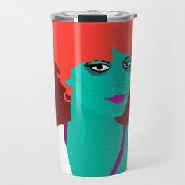 Miss Argentina Portrait Travel Mug
