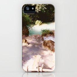 Kanchanburi TH - Erawon Waterfalls  iPhone Case