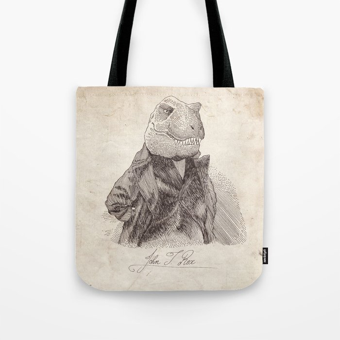 John T. Rex Tote Bag