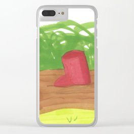 Whoops Clear iPhone Case
