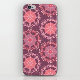 Retro Plum iPhone Skin