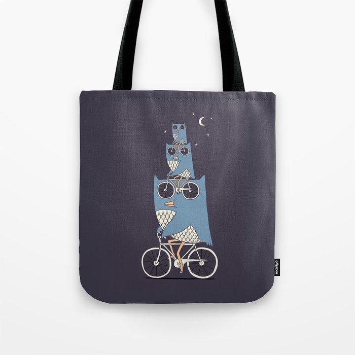 Night Rider Tote Bag