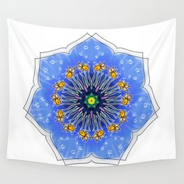 Mandala fishes Wall Tapestry