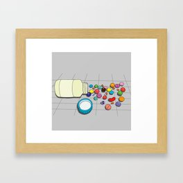 Misa's prescription Framed Art Print