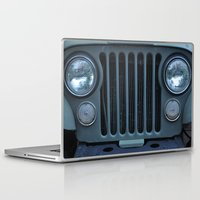 jeep Laptop & iPad Skins featuring Jeep by Rosa Maun
