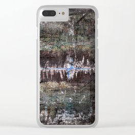 Swamp Life Clear iPhone Case