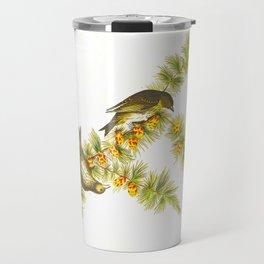 Pine Finch Bird Travel Mug