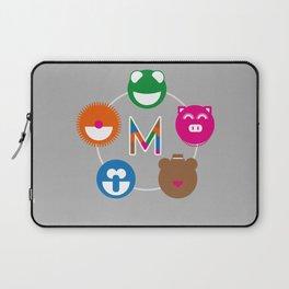 Geometric Muppets Laptop Sleeve