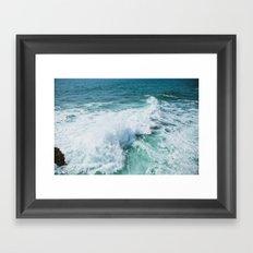 The Wave. Framed Art Print