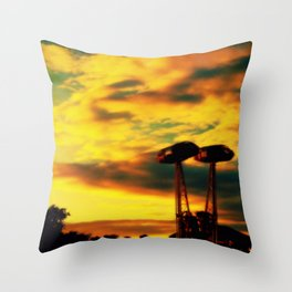 WATCH THE SUN COME UP - BY ANDY BURGESS Throw Pillow