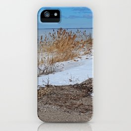 Snow and Sand iPhone Case
