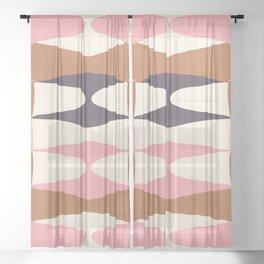 Zaha Fashion Sheer Curtain