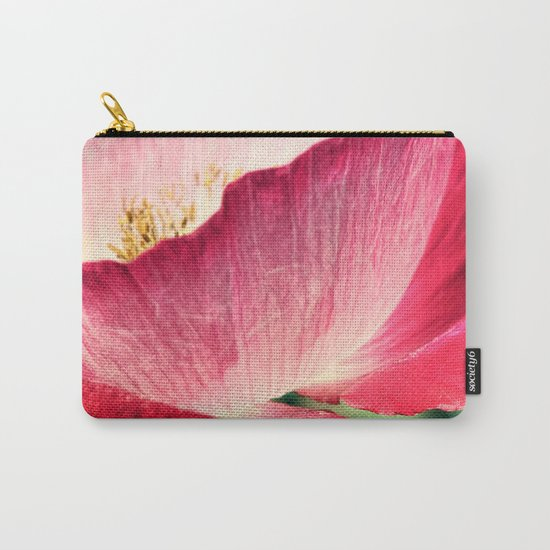 Red Poppy in Sunlight Carry-All Pouch