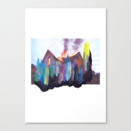ARMED / LUMINOUS #4 Canvas Print