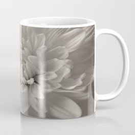 Monochrome chrysanthemum close-up Coffee Mug