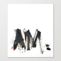 AM Canvas Print