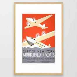 CITY OF NEW YORK Framed Art Print