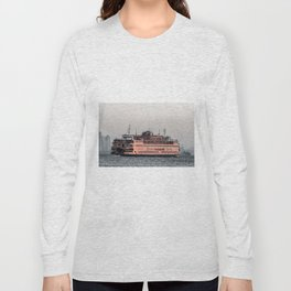 """The Boat"" , Staten Island Ferry Long Sleeve T-shirt"