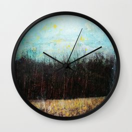 Behind the House Wall Clock