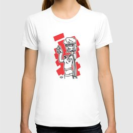 Graffiti Girl (alternative) T-shirt