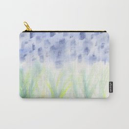 Hill Country Texas Bluebonnet Abstract Carry-All Pouch
