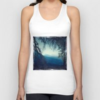 morning Tank Tops featuring Blue Morning by Dirk Wuestenhagen Imagery