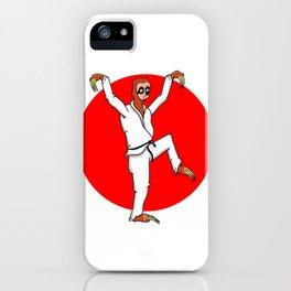 Sloth Karate iPhone Case