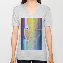 Ella / She / Portrait 2 - Column Unisex V-Neck