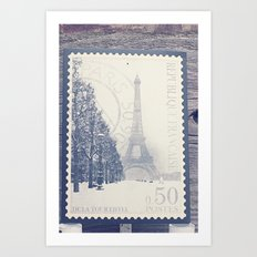 De La Tour Eiffel Art Print